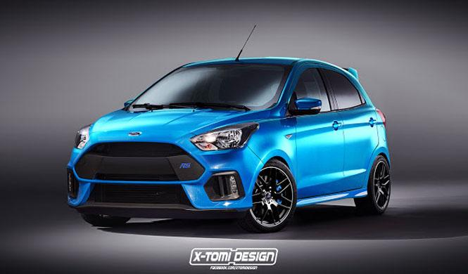 ¿Un Ford Ka Plus RS? Sí, lo queremos¡¡¡