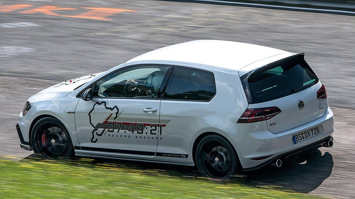 VW Golf GTI Clubsport barrido