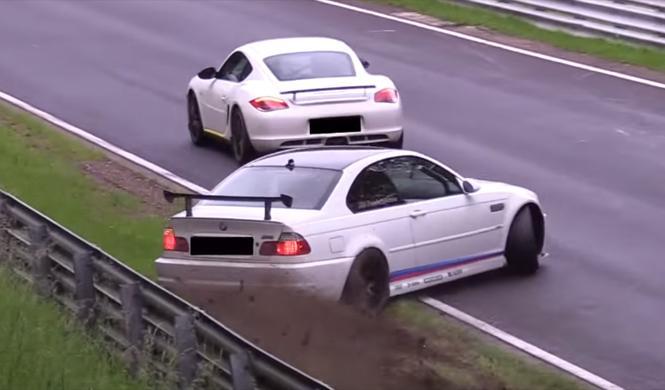 Vídeo: el peligro de ir demasiado lento en Nürburgring