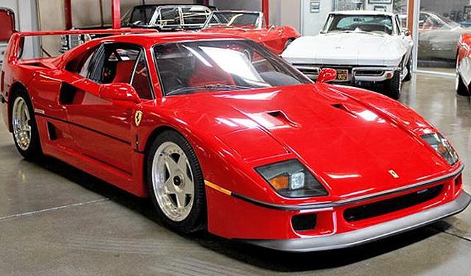 Este Ferrari F40 no encuentra dueño en Internet