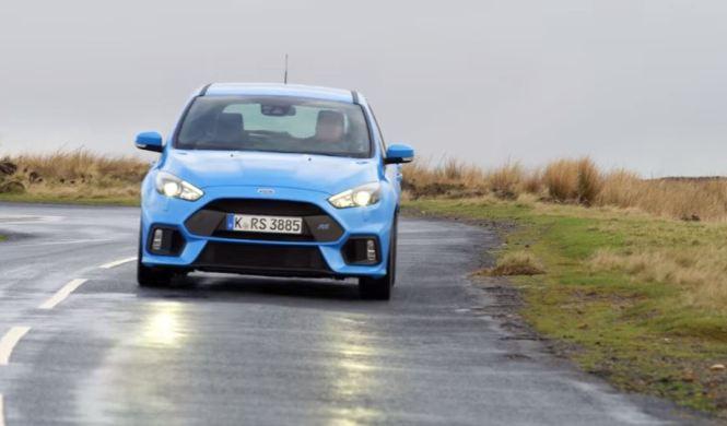 El Ford Focus RS y la mejor carretera del Reino Unido