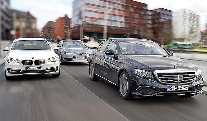 ¿Supera el Mercedes Clase E a los BMW Serie 5 y Audi A6?