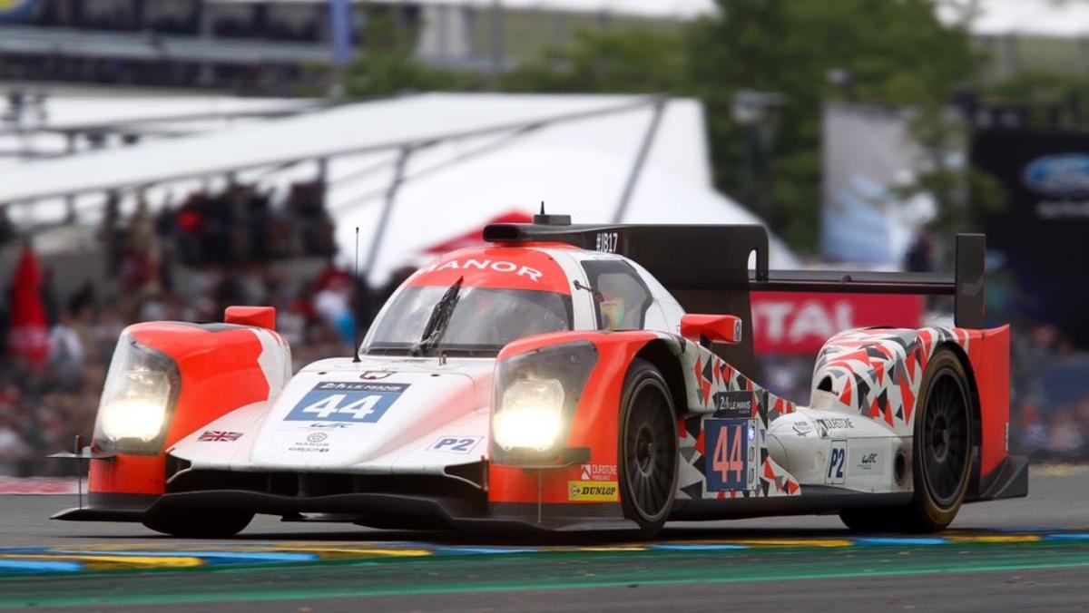 Roberto Merhi: un debut de 10 en  las 24H de Le Mans 2016