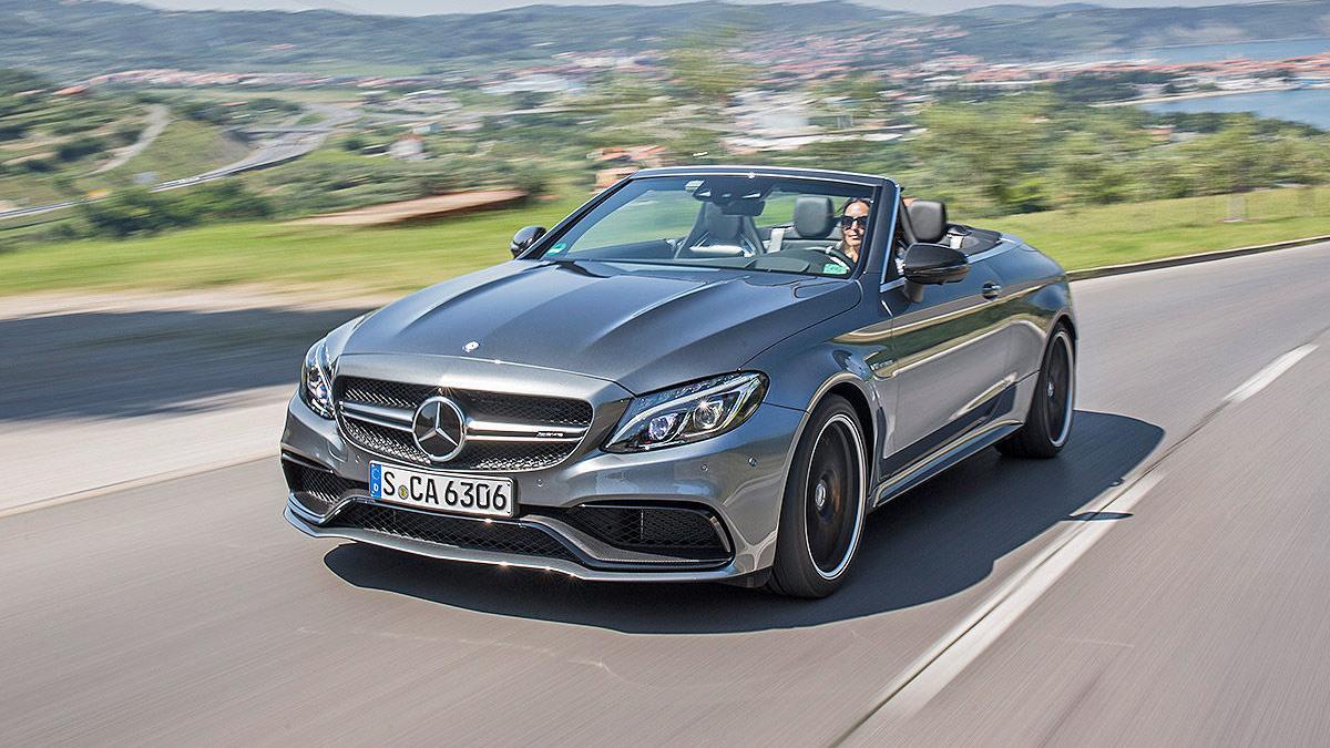 Prueba: Mercedes AMG C 63 S Cabrio (2016)
