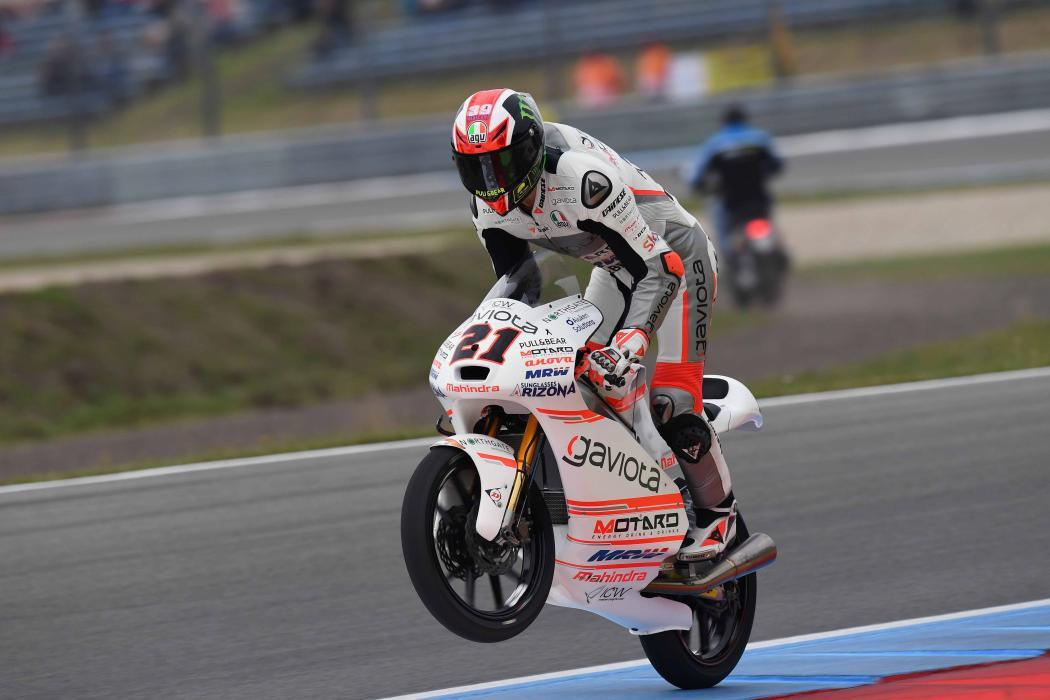 Carrera Moto3 Assen 2016: Bagnaia se lleva un carrerón