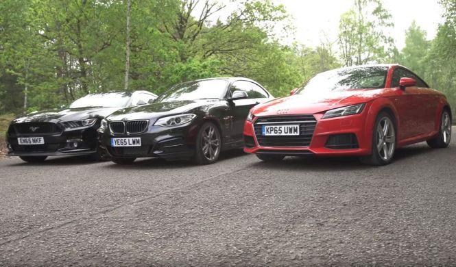 Vídeo: ¿es el Mustang tan bueno como los coupé europeos?