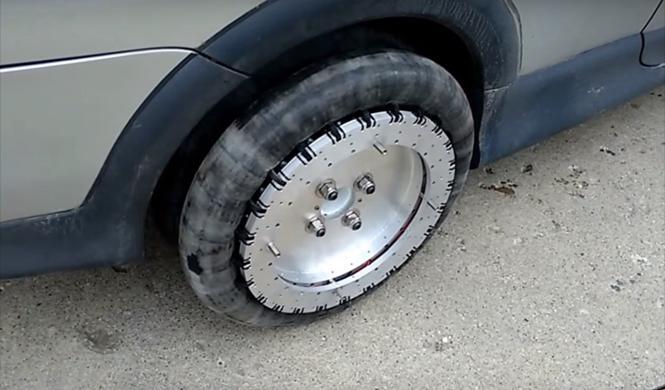Estas ruedas omnidireccionales te permiten ir dónde quieras