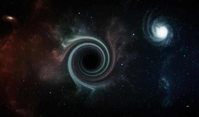 Así es realmente un agujero negro