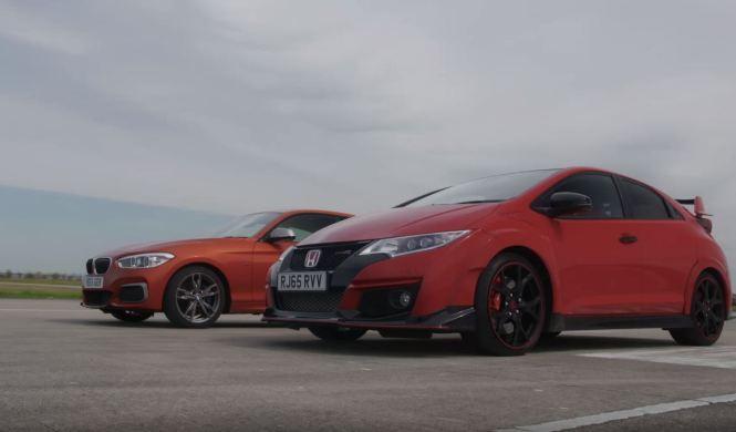 Vídeo: Honda Civic Type R vs BMW M135i