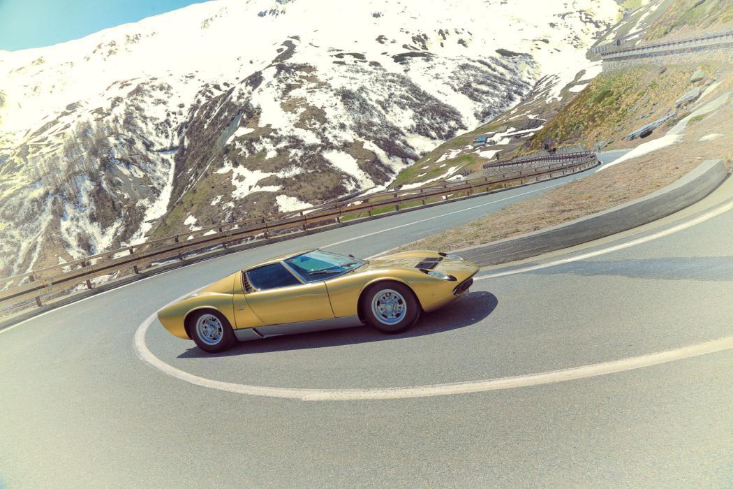 """Lamborghini Miura """"The Italian Job"""""""