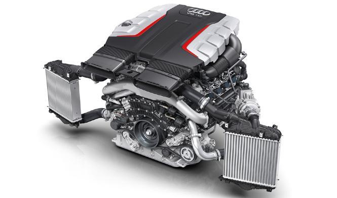 El nuevo motor V8 de Audi será el último de su clase