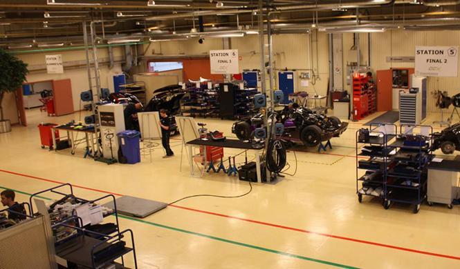 Los cochazos que conducen los trabajadores de Koenigsegg