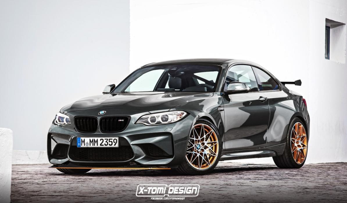 Así podría ser un posible BMW M2 GTS