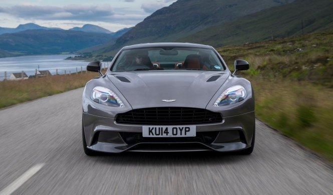 Cazado el Aston Martin Vanquish S en Nürburgring