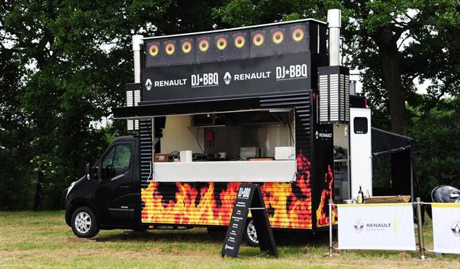 Renault y Dj BBQ cocinarán juntos en el 'Catertainment'