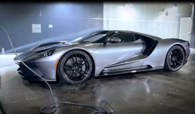 Vídeo: el Ford GT en el túnel del viento