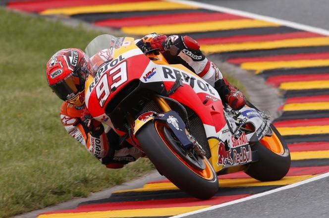 Clasificación MotoGP Sachsenring 2016: Márquez pone orden