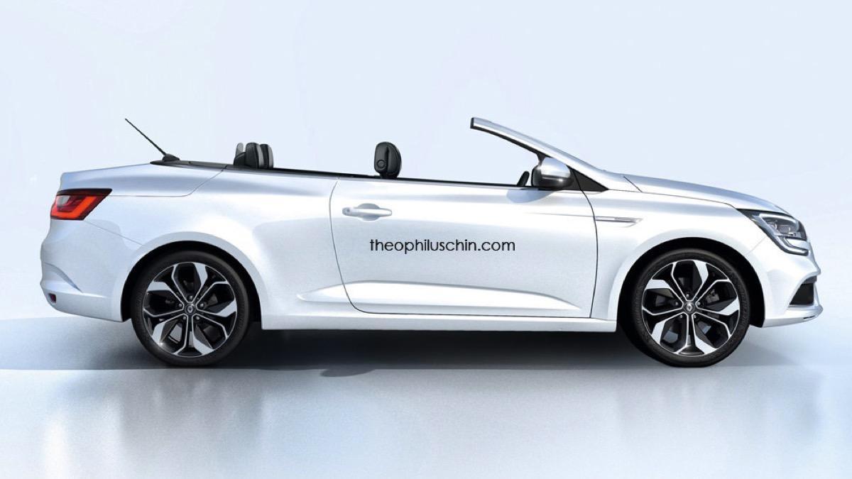 Renault Mégane Cabrio render