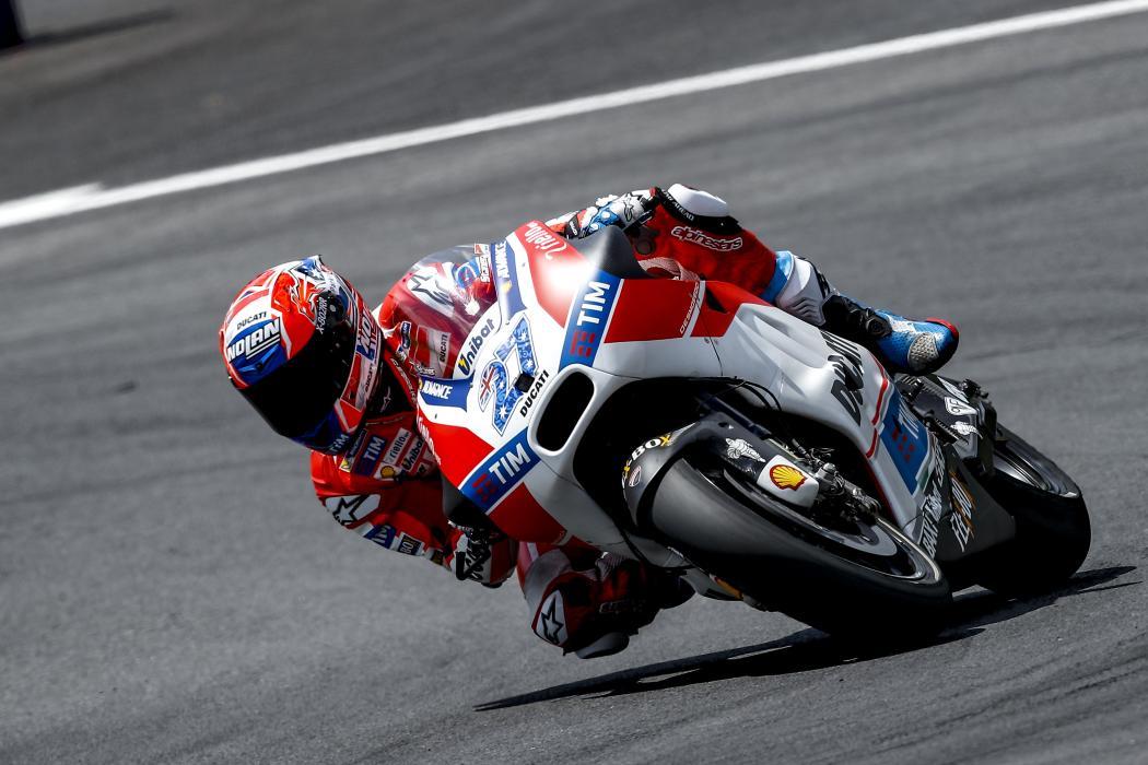Test MotoGP Austria (II): Casey Stoner está para correr