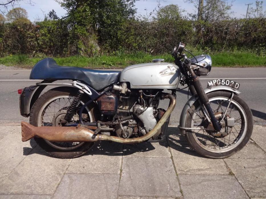 A subasta una Velocette Thruxton de 1966