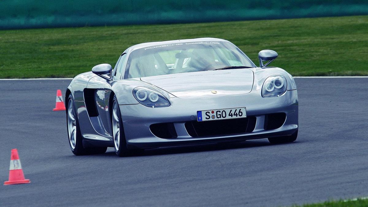A la venta un Porsche Carrera GT con 244 kms