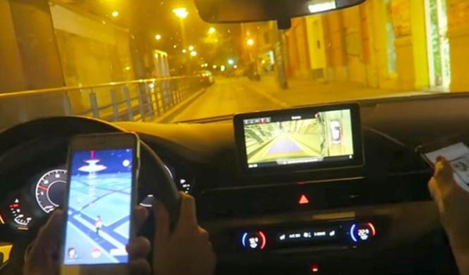 Vídeo: Cazando Pokemons a 180 km/h