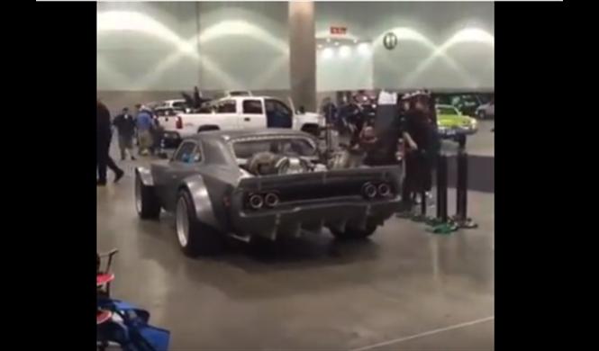 Fast 8: ¿Vin Diesel, con un Charger con motor de avión?