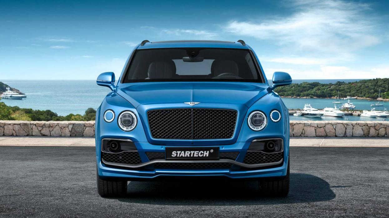 Bentley Bentayga Startech frontal