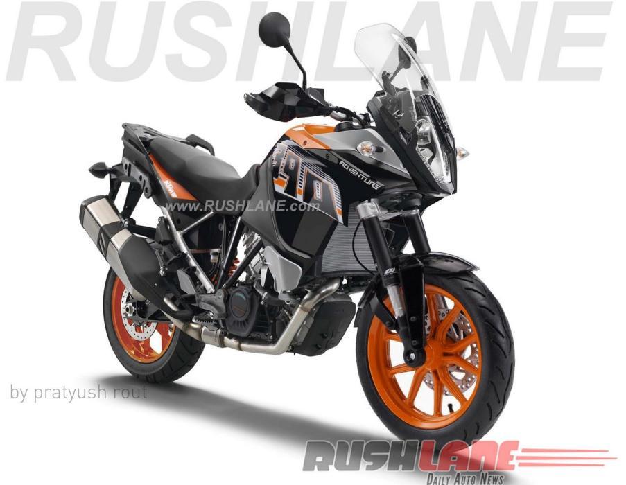 KTM 390 Adventure: así podría ser la pequeña trail naranja