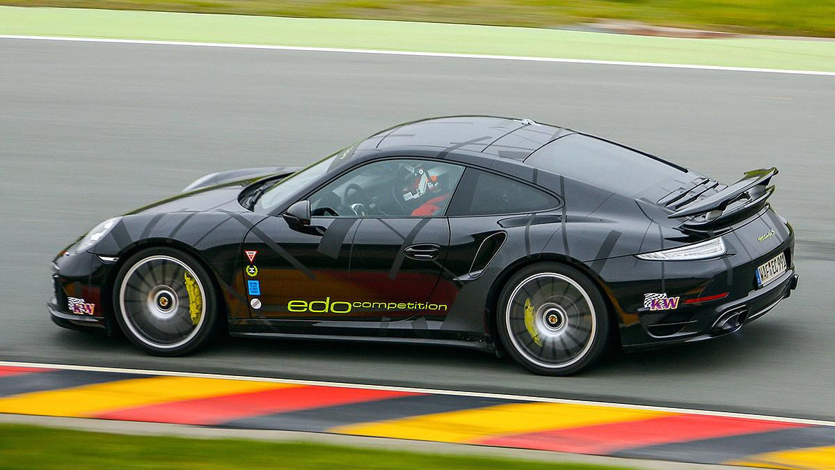 Prueba radical: Edo Competition 911 Turbo S Blackburn