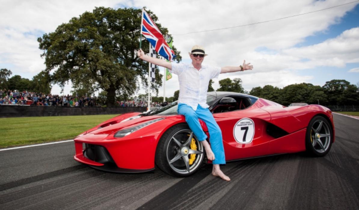 Las mayores 'celebrities' coleccionistas de Ferrari