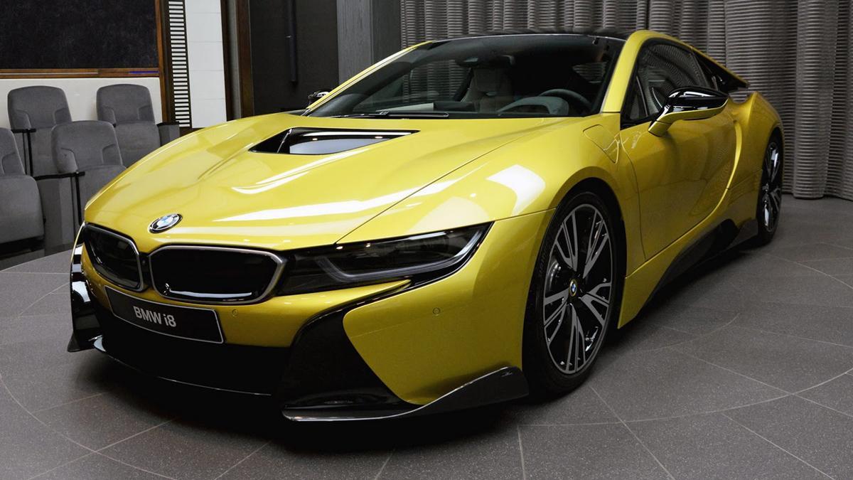 BMW i8 AC Schnitzer Amarillo Austin metalizado
