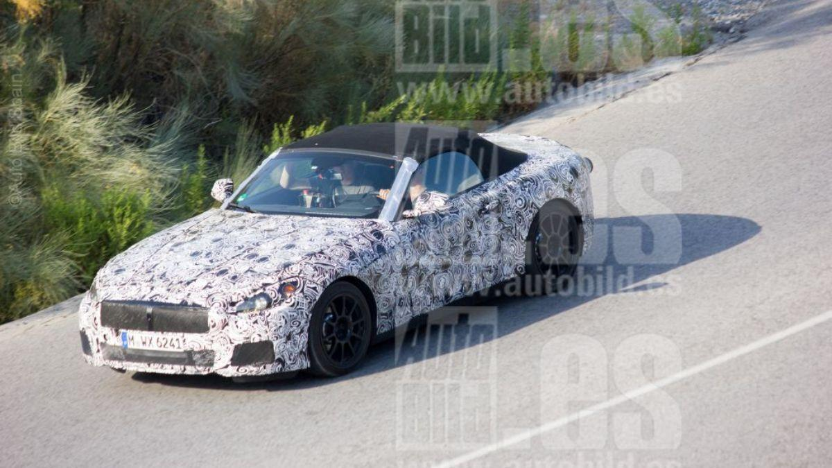 Fotos espía BMW Z5