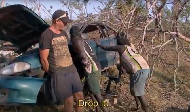 Este aborigen australiano es un mecánico de primera