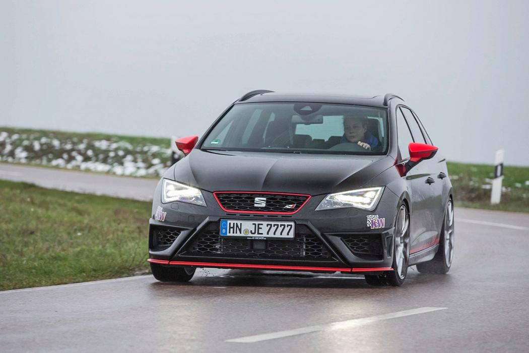 prueba tuning je design seat leon st cupra 280. Black Bedroom Furniture Sets. Home Design Ideas