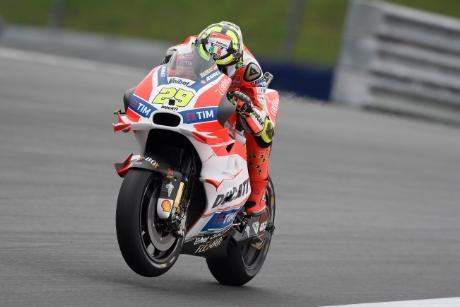 Clasificación MotoGP Austria 2016: Iannone se lleva la pole