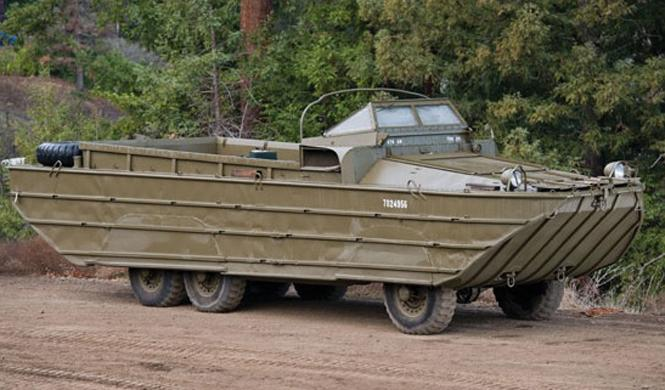 vehiculo militar dukw