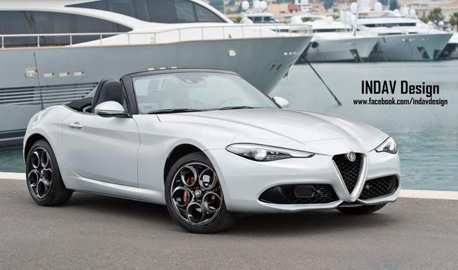 Así podría ser el nuevo Alfa Romeo Spider