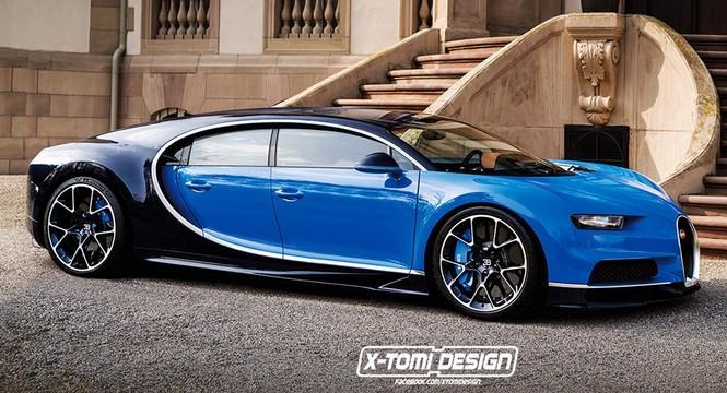 ¿Un Bugatti Chiron de cuatro puertas? Aquí lo tienes