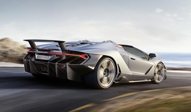 Vídeo: El Lamborghini Centenario Roadster en movimiento