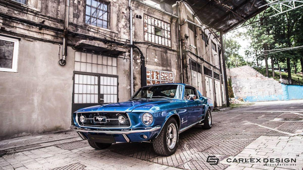 Ford Mustang by carlex design tres cuartos