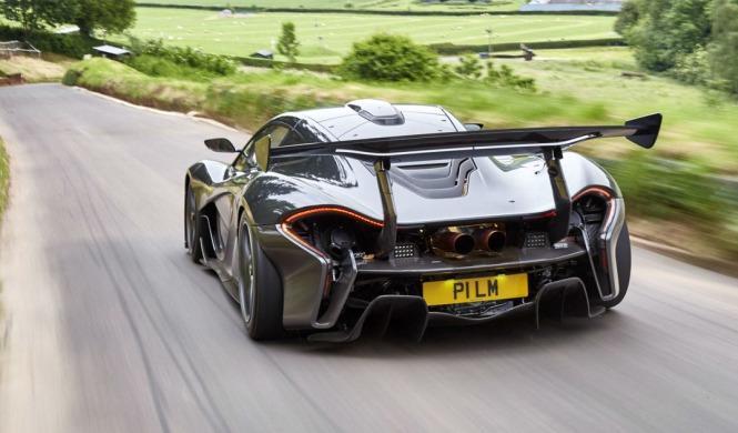 El McLaren P1 LM quiere el récord de Nürburgring