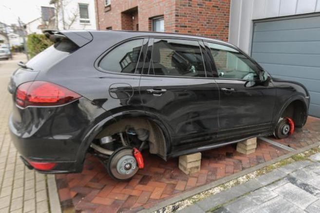Un robo redondo: 192 ruedas por valor de 225.000 euros