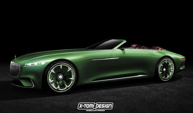 Descapotando al Vision Mercedes-Maybach 6