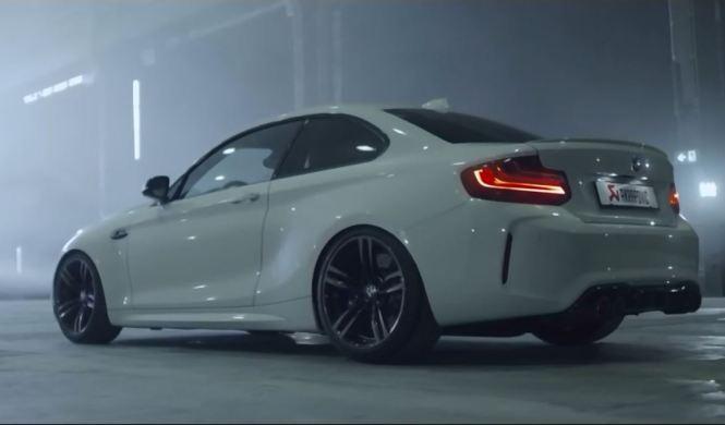 Vídeo: bestial el BMW M2 con escape Akrapovic