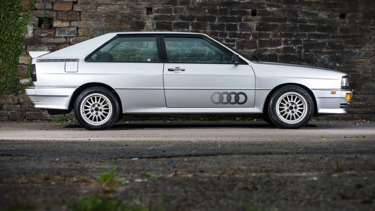 Audi Quattro Turbo lateral