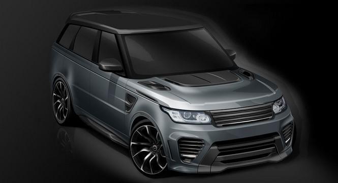 Este es el Range Rover Sport SVR firmado por Overfinch