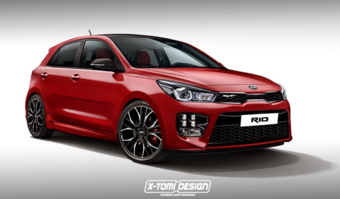 Así luciría el Kia Rio GT: ¡con 180 CV!