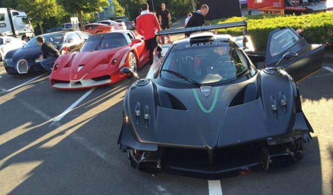 Vídeo: así se lo pasan los ricos en Nürburgring
