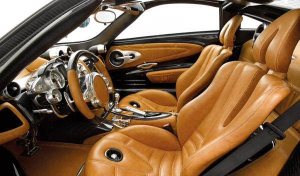 Llamada a revisión del Pagani Huayra por fallo en el airbag